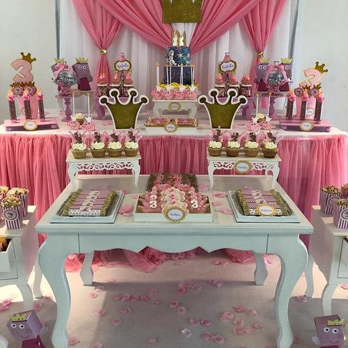 candy bar con ambientación-mesa dulce