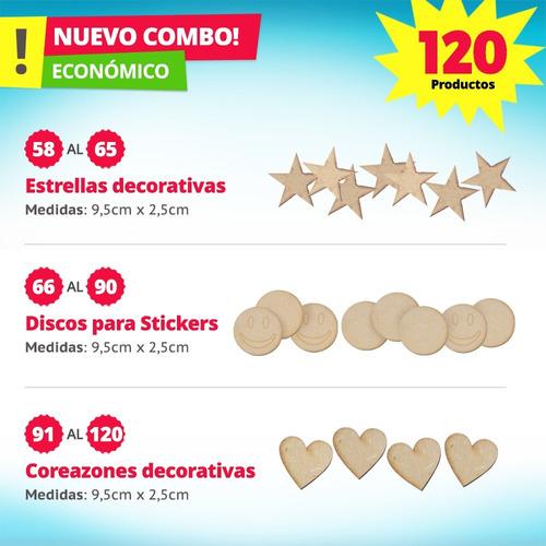 candy bar fibrofacil 120 productos mdf candybar
