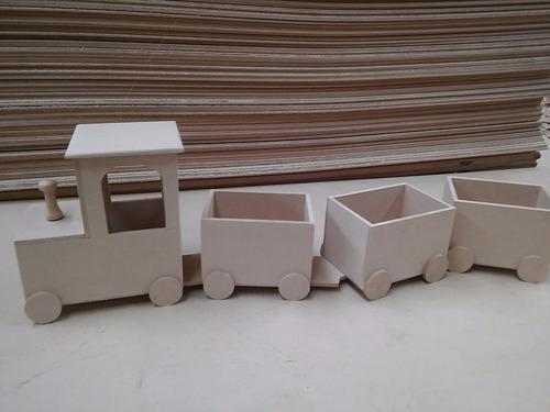 candy bar fibrofacil tren de 3 vagones