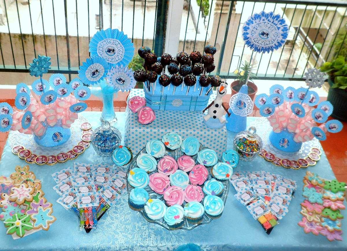 Como hacer un candy bar infantil buffet design - Mesa dulce infantil ...