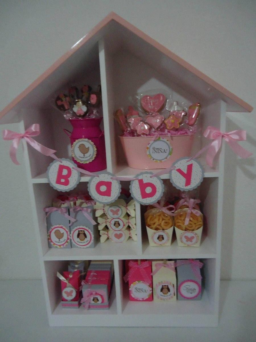 Candy bar mesa de dulces recuerdos cajitas baby for Mini candy bar de madera