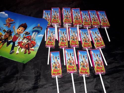 candy bar para 30 chicos personalizado...150 golosinas
