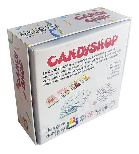candy shop juego de mesa super divertido novedad 2020
