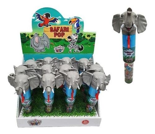 candy toy juguete elefante pop con dulce - kg a $25
