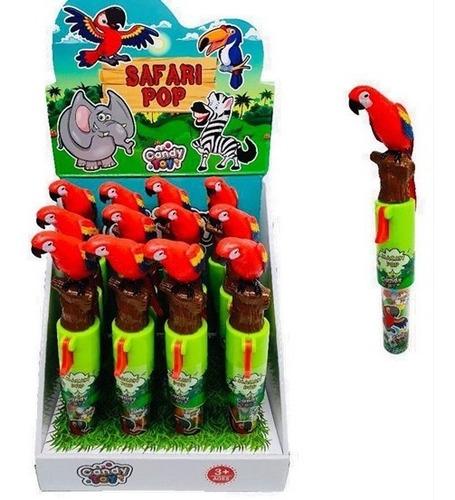 candy toy juguete guacamaya pop con dulc - kg a $25