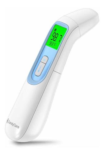 candycare - termómetro infrarrojo inteligente con pantalla d