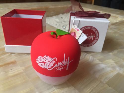 candylipz red apple ensanchador de labios