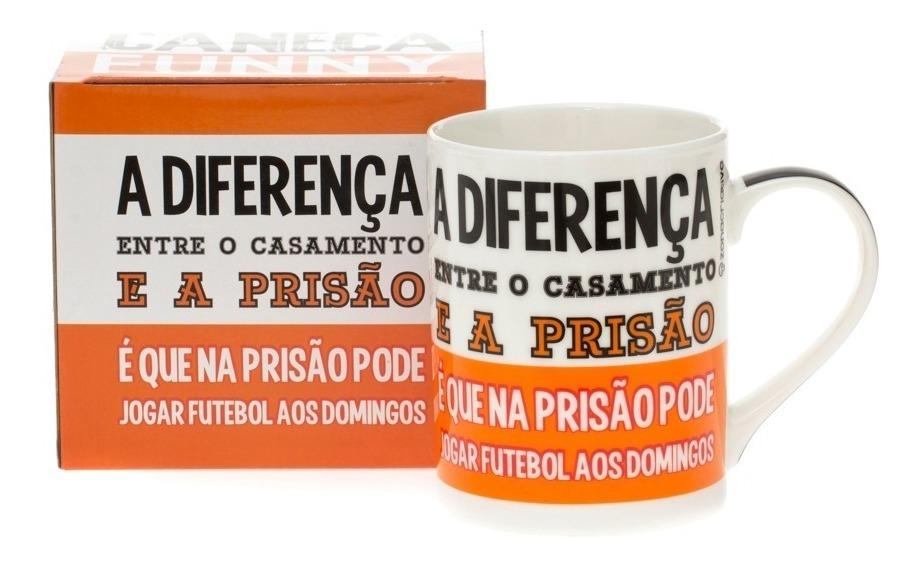 Caneca 320 Ml Frases Engraçadas A Diferença 10020417