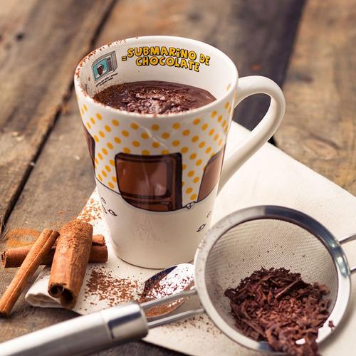 caneca 330ml submarino de chocolate