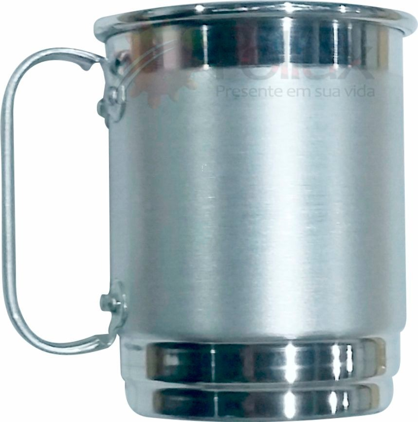 5d3c52dda caneca 500ml chopp cerveja - alumínio escovado - kit 30 pçs. Carregando  zoom.