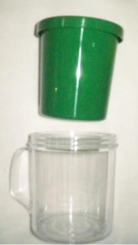 caneca acrilica personalizada kit com 10 unidades