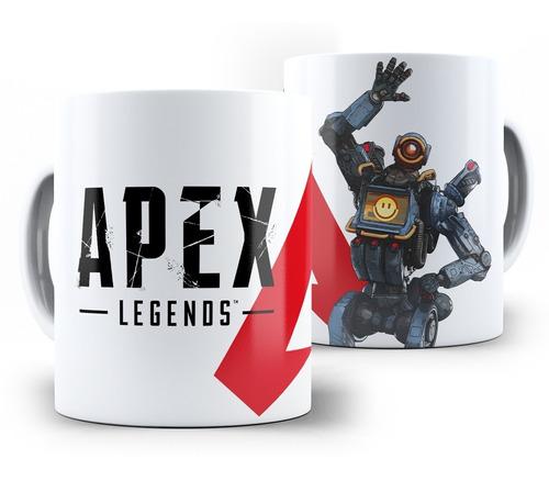 caneca apex legends pathfinder e todas as lendas