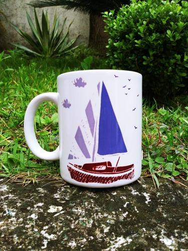 caneca barcos