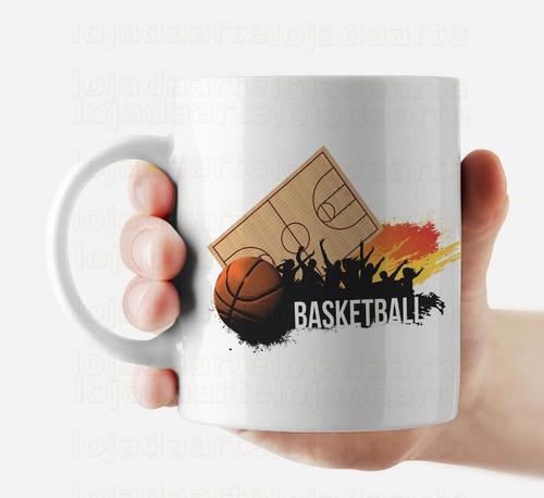 caneca basquete cód: 1215