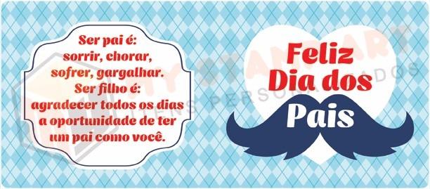 Caneca Bigode Mensagem Frase Presente Feliz Dia Dos Pais R 2990