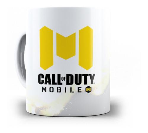 caneca call of duty mobile (cod) em cerâmica