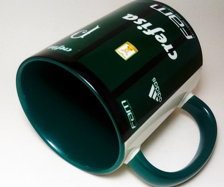 f6f53484c9 Caneca Camisa Palmeiras Alça E Interior Verde - R  38