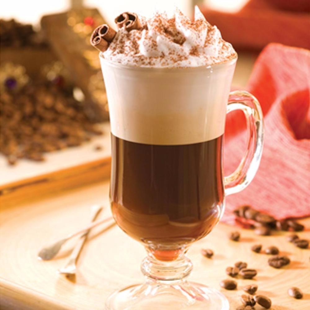 Caneca capuccino chocolate vidro temperado 240ml r 28 - Bilder cappuccino ...
