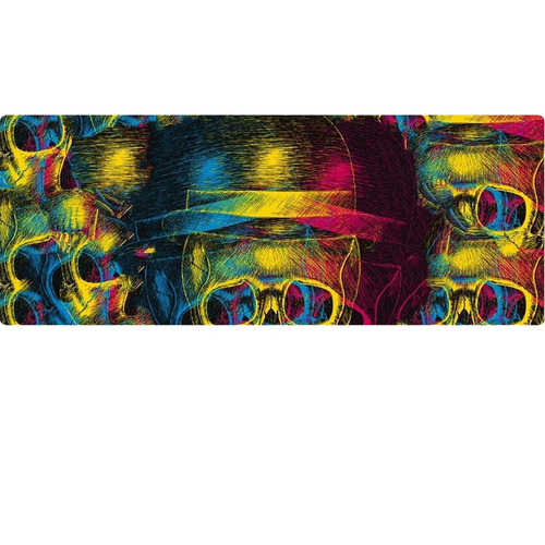 caneca caveira psychedelic landscape