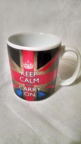 caneca cerâmica keep calm cap003