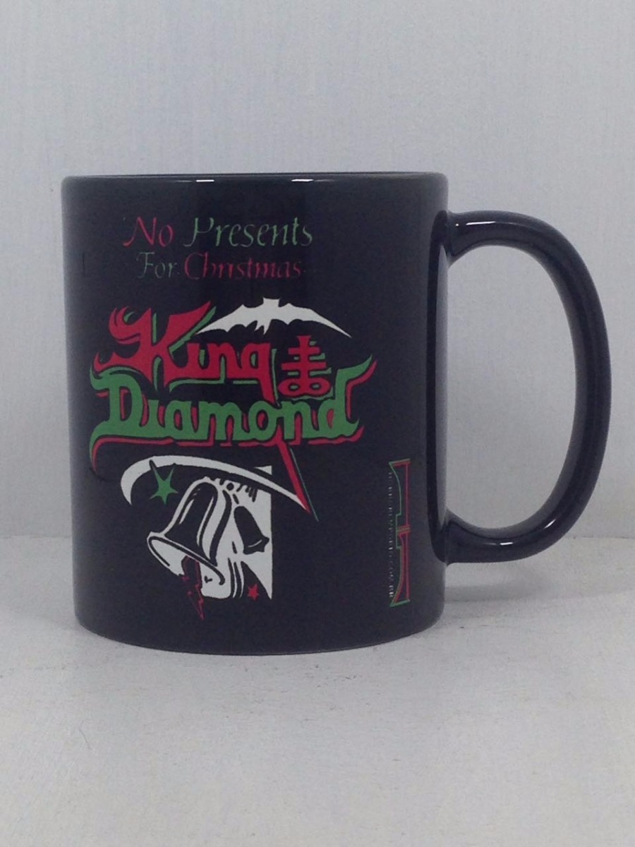 Caneca Cerâmica King Diamond - No Presents For Christmas - R$ 35,00 ...