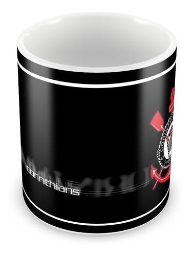 caneca cerâmica personalizada do corinthians grátis caixinha
