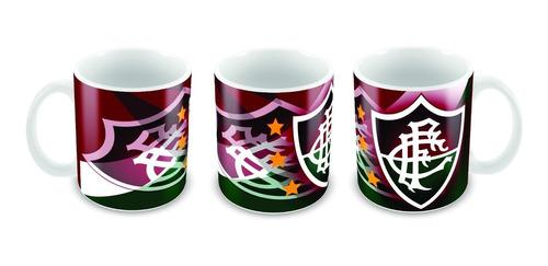 caneca cerâmica personalizada do fluminense grátis caixinha