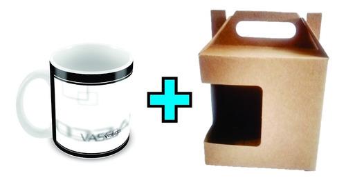 caneca cerâmica personalizada do vasco da gama gts caixinha