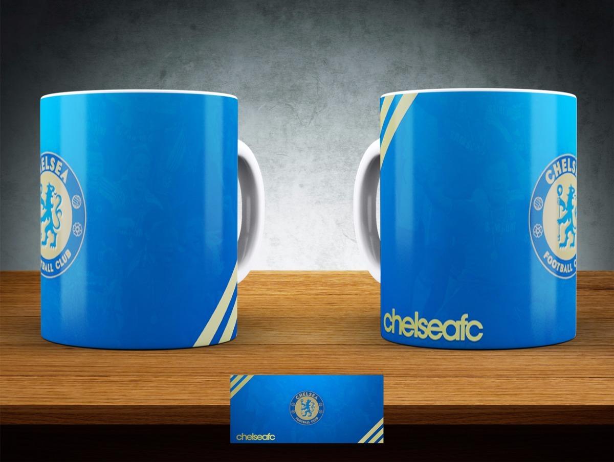 33f2e71f69afd Caneca Chelsea - Clube De Futebol - Modelo 11 Ao 12 - R  16