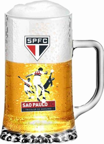 caneca  chopp maxim cerveja são paulo fc rogerio tricolor