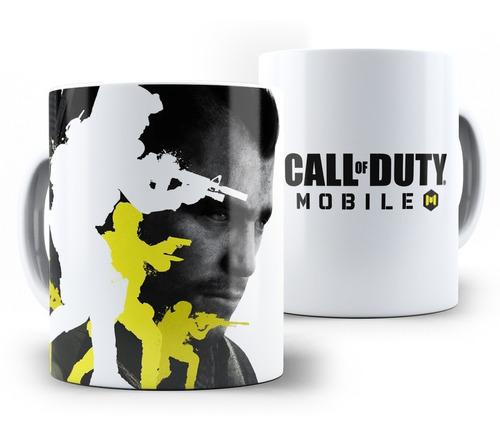 caneca cod mobile (call of duty) em cerâmica