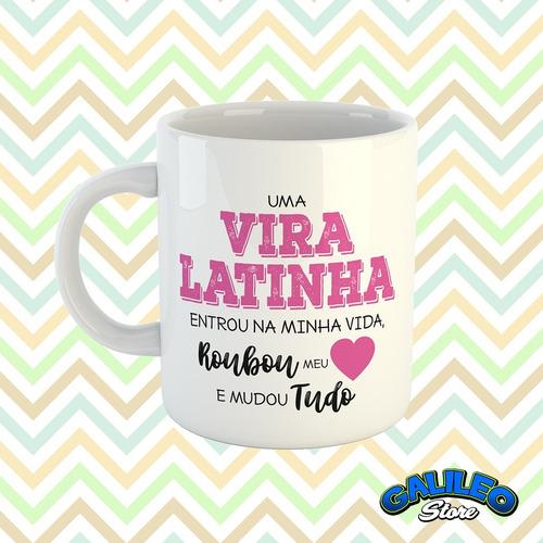 caneca coleção cães - vira-latinha