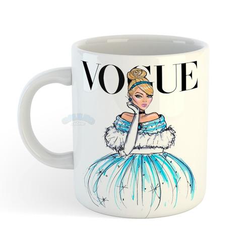 caneca coleção princesas disney vogue - cinderela