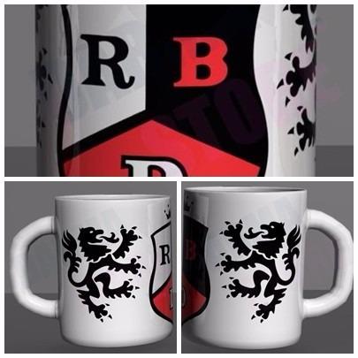 caneca com logo rebelde rbd banda mexicana