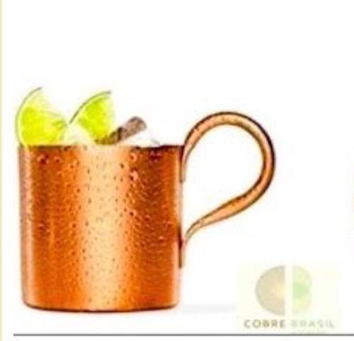 caneca copo de cobre 340 ml / original drink moscow mule