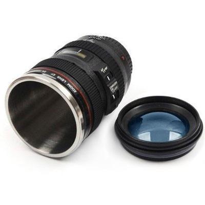 caneca copo termico lente camera presente namorada feminino