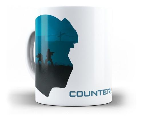 caneca cs go counter strike em cerâmica