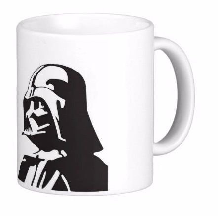 caneca darth vader, geek, nerd, star wars