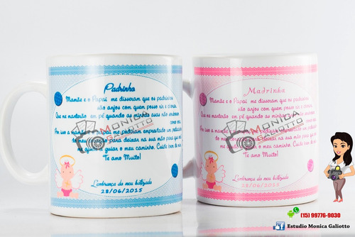 caneca de cerâmica personalizada