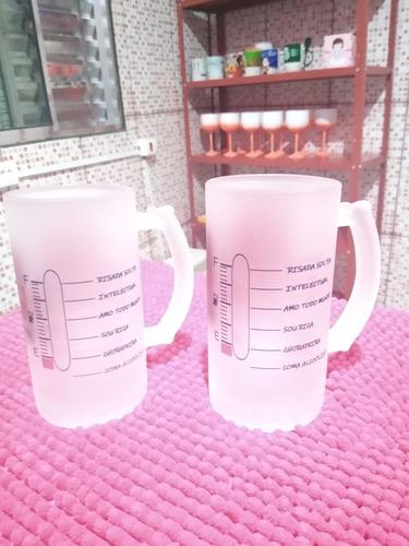 caneca de chopp de vidro 550ml 40$
