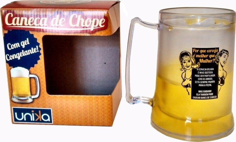 7da5337fa caneca de chopp gel congelante chopp x mulher. Carregando zoom.