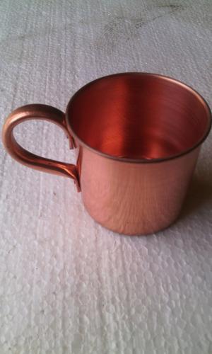 caneca de cobre moscow mule 350 ml com borda metal arte