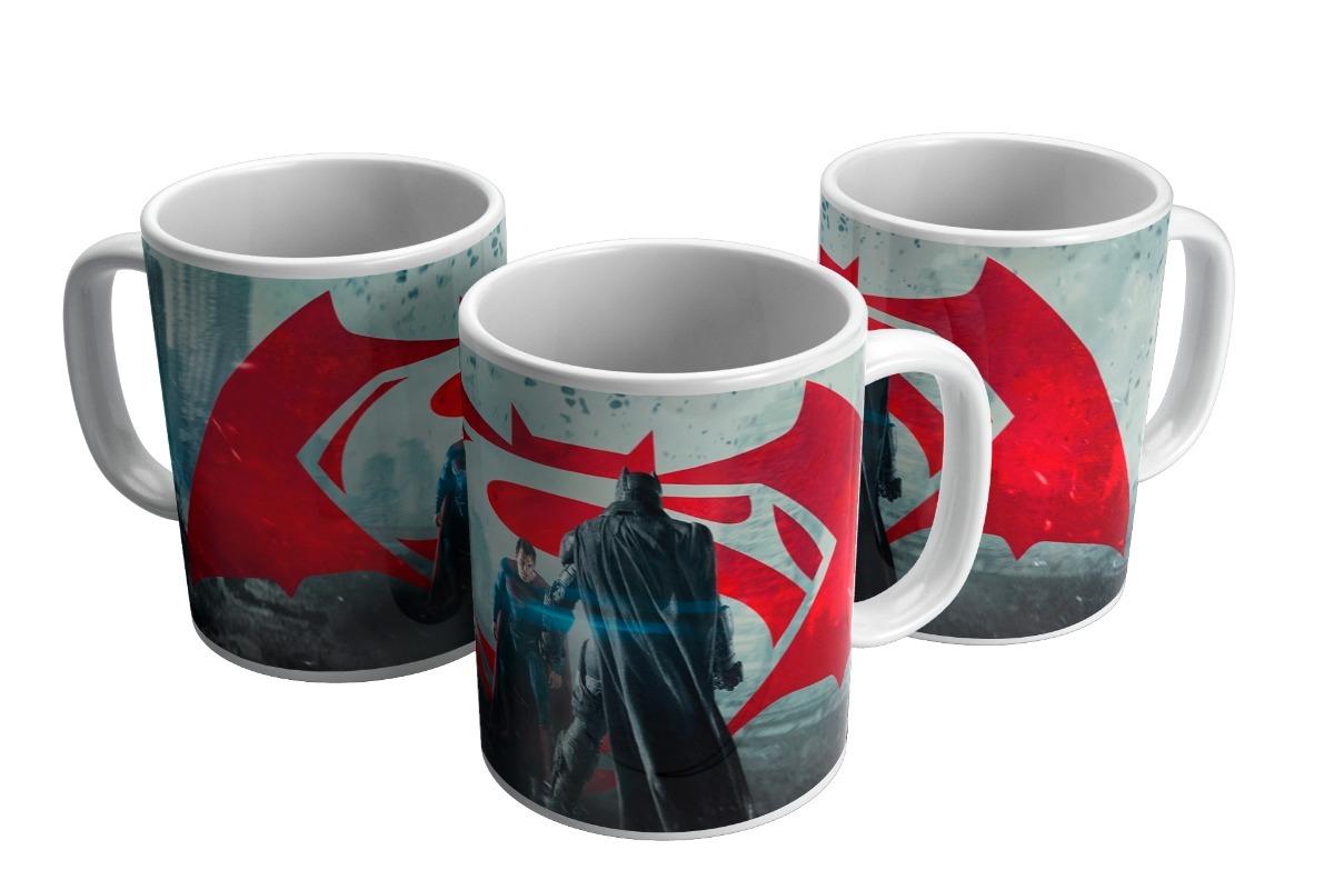89a7682853fce3 Caneca De Porcelana Personalizada Batman Coringa Dc