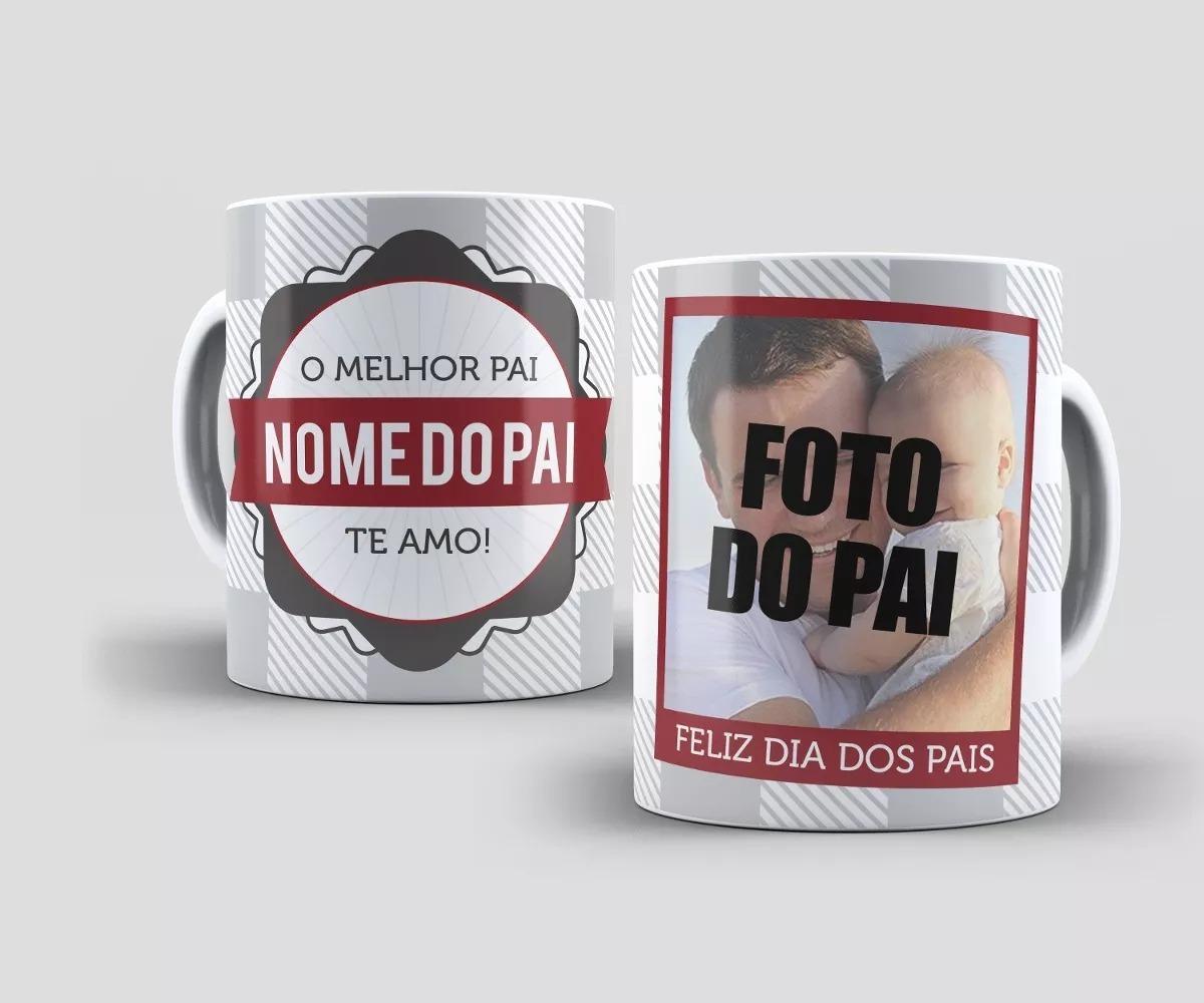 Caneca De Porcelana Personalizada Com Foto E Frase