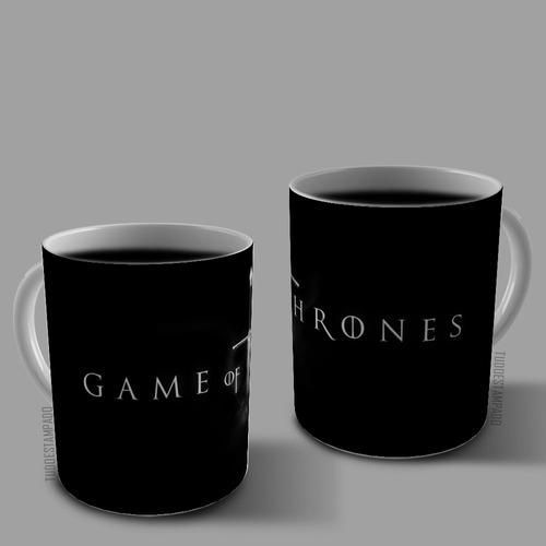 caneca de porcelana personalizada - série game of thrones