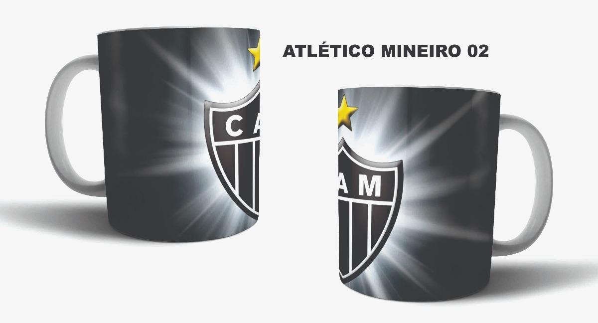 caneca de porcelana sublimação time futebol - atlético-mg 02. Carregando  zoom. 6b95b7e4d2636