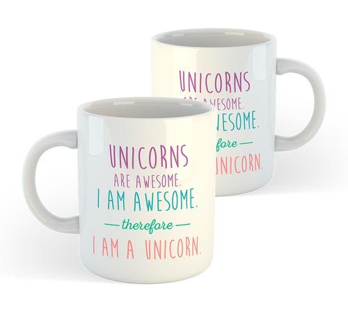 caneca de unicórnio - frase: i am a unicorn