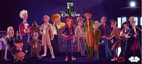 caneca doctor who disney