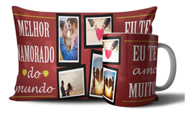d5852899ed3733 Caneca E Almofada Dia Dos Namorados P/ Ele Personalizado