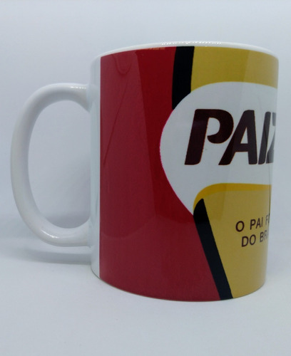 caneca em porcelana tema paizão - sátira café pilão - pai